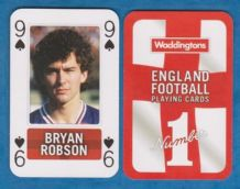 England Bryan Robson Manchester United 9S